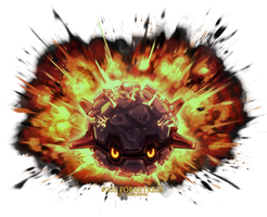 Forretress used Explosion!