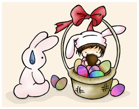 Bunny and Eggs Chocolate's Day by Galyta