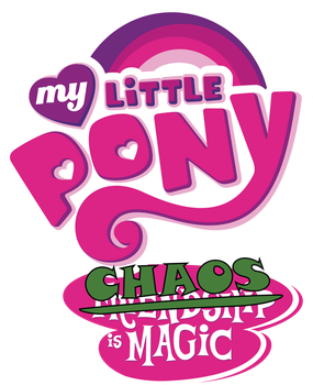 MLP logo chaos version by Derpwave