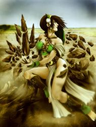 Adult Toph Bei Fong III by RacoonFactory