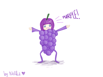 grapes by nellysunshine