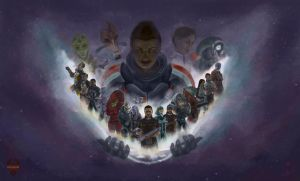 Shepard of the Galaxy by winterqueen
