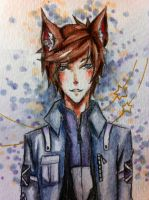 watercolor doodle by Laerlyn