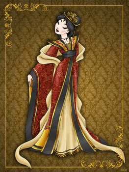 Queen Mulan- Disney Queen designer collection by GFantasy92
