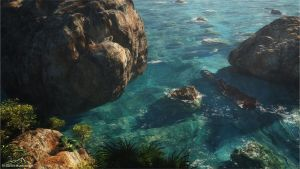 Shipwrecked by 3DLandscapeArtist