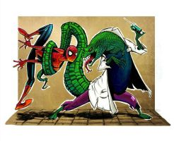 Spidey and Foes: The Lizard by Nathan123qwe