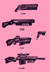 Pretty Pink Guns by Gref313