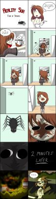 Reality Sux_Arachnophobia by TFSubmissions
