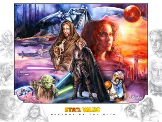 : Revenge of the Sith : by Callista1981