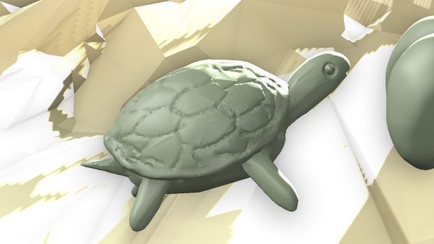 Day 08 - Turtle (L) by wingsyo
