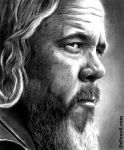 Mark Boone Jr as Bobby Munson - SONS OF ANARCHY by Doctor-Pencil