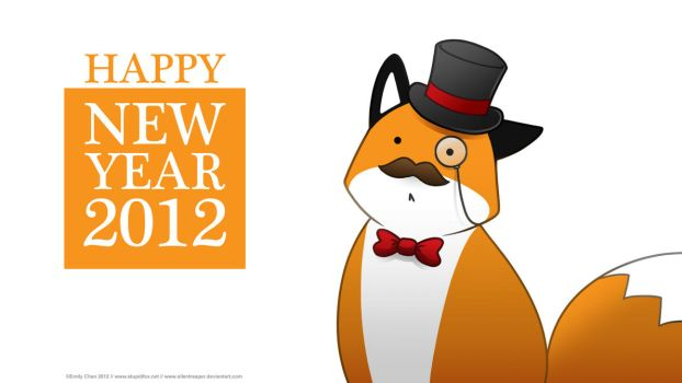 StupidFox - New Year 2012 by SilentReaper