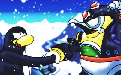 Chill up and Waddle On penguin pals by IceLucario20xx