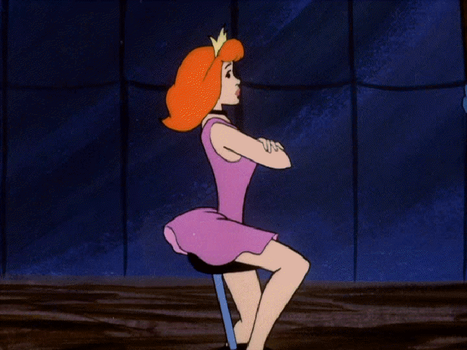 Hypnotized Daphne On A Unicycle 3 by The-Mind-Controller