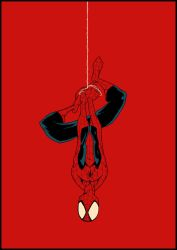 spiderman hanging by Anny-D