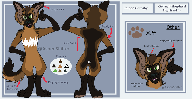 Ruben Ref | October 2016 by AspenShifter