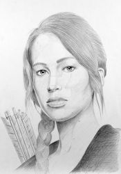 Katniss from The Hunger Games by JPfx