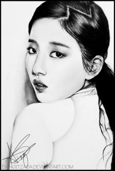 Miss A-Suzy Hush Drawing by Dangitzada