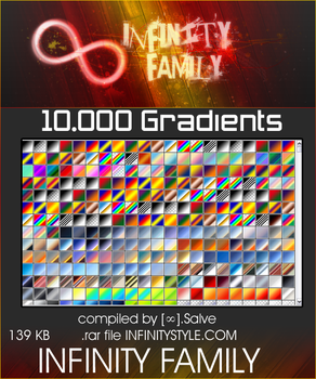 10,000 Gradients by InfinityStyle