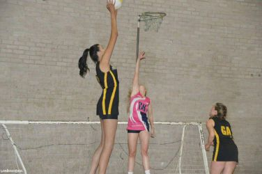 Tall girl netball by lowerrider