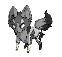 Cole The Stone Fox      The Crush Of The Sisters by phantomefoox