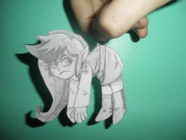 Shadow Link paperchild by amyaims