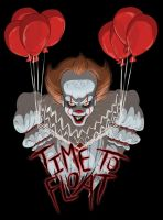 Time to Float - T-Shirt/Print Available by Bratzoid