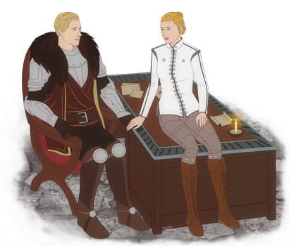 CM 005 - Cullen Rutherford and Evelyn Trevelyan by Kaschra