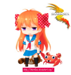 sakura chiyo and paras render by sharknex