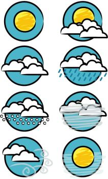 Weather Icons 01 by xquizit