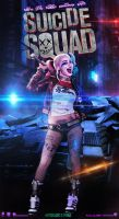 Suicide Squad Harley Quinn Poster by GOXIII