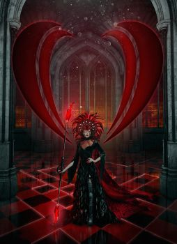 Red Queen by Cestica