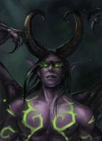 Illidan Stormrage by x-Celebril-x