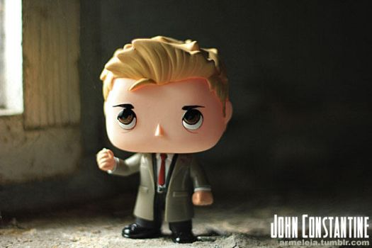 John Constantine Funko POP Custom by Armeleia