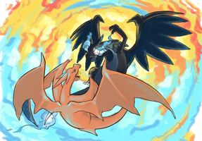 Mega 006: Charizard by lesuperspecial