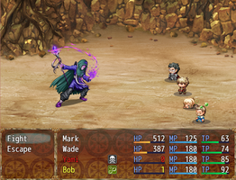 .:RPG Maker MV- Legends of Yotuberia AU - test 2:. by AquaGD