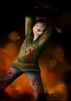 Cry: Consumed by Madness by Kiwa007