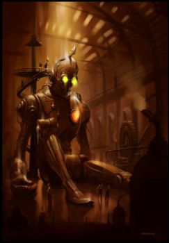 Steampunk by PReilly