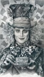 Mad Hatter - Johnny Depp HQ by th3blackhalo