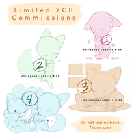 [CLOSED] Limited YCH Commissions by whitepaperrabbits