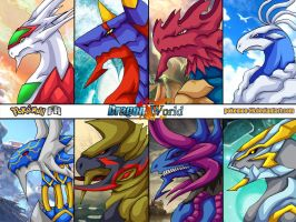 Dragon World - Dragons part 3