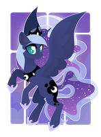 Princess Luna by GLaSTALINKA