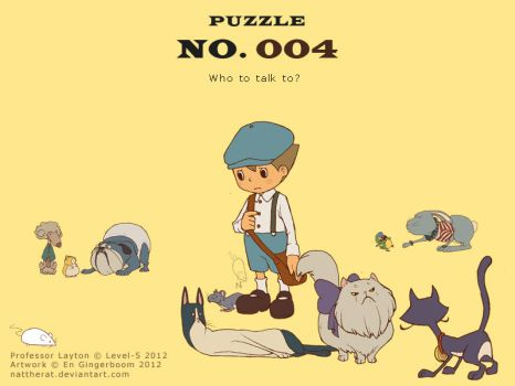Puzzle 004 - Who to talk to? by nattherat