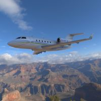 Challenger 604 In The Sky by VanishingPointInc