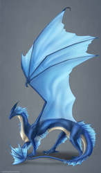 Leviathan Dragon Commission by ShadowDragon22