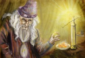 Obsession Series. Dumbledore. by sassynails
