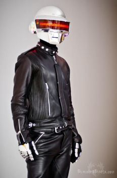 Daft Punk Front View by gstqfashions