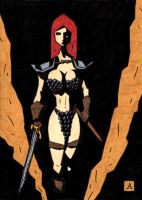 Red Sonja 9 by soliton