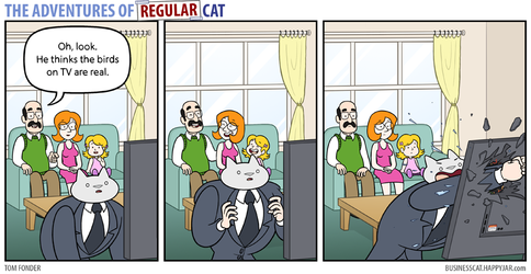 The Adventures of Regular Cat - Television by tomfonder