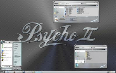 Psycho II by SKoriginals